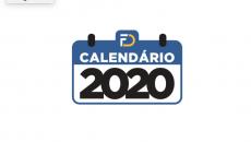 Calendário  Redes Sociais 2020